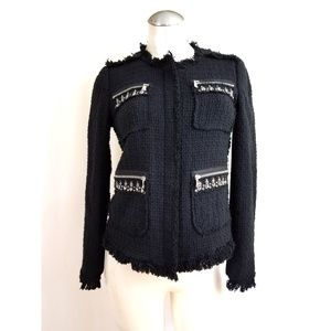 Rebecca Taylor Size 6 Black Blazer